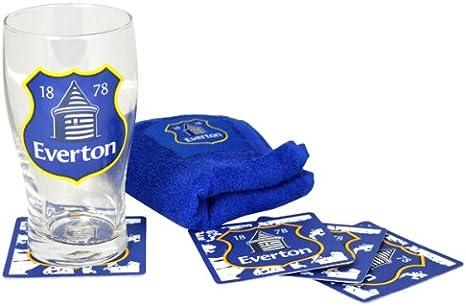 Everton FC Official Football Gift Mini Bar Set