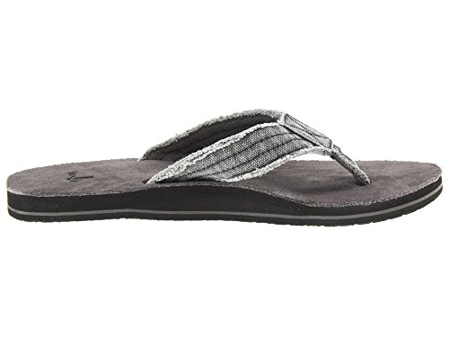 M Men's Flip Fraid Charcoal So Sanuk Flop PB8qw5FFx