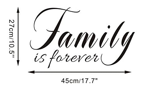 Amazoncom Free Will Family Is Forever Wallpaper Home Decoration