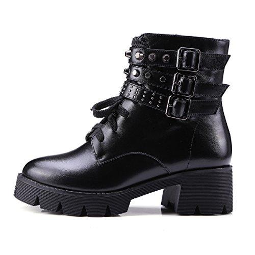 Nine SevenMartin Boots - Botas mujer negro
