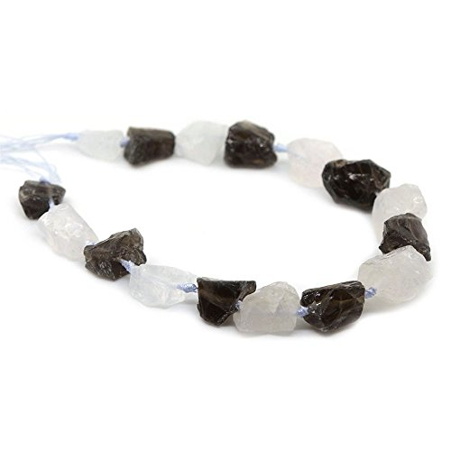 Smoky Quartz Nugget Beads - 2