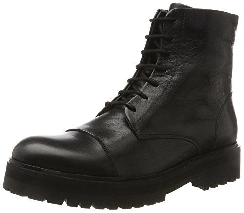 Women's Combat Ave Legioner Boots Black Royal RepubliQ Schwarz pnqAw5