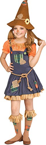 Creepy Scarecrow Costume (Fun World Scarecrow Costume, X-Large 14-16,)