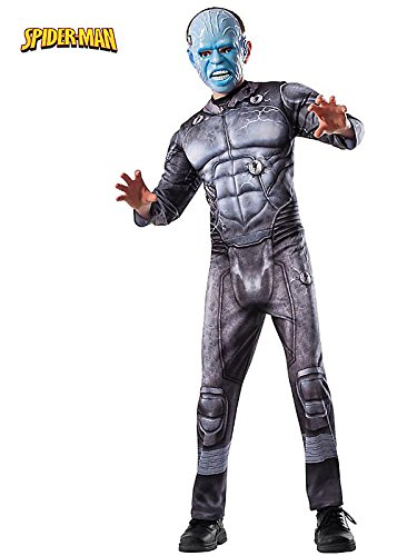 The Amazing Spider-man 2, Electro Deluxe Costume, Child (Amazing Spider Man 2 Costume Amazon)
