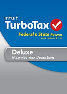 TurboTax Deluxe Fed + Efile + State 2013 + Refund Bonus Offer [Old Version]