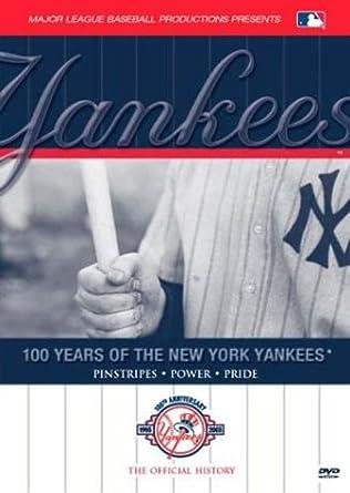 Amazon.com  100 Years of the New York Yankees DVD  Movies   TV 128266161619