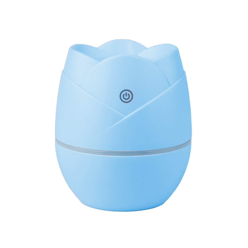 LC_Kwn Humidifiers for Room Bedroom, Cool Mist Ultrasonic Air Humidifier for Home Whole House Babies Room (Color : Blue)