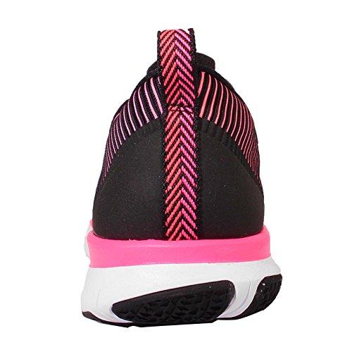Nike Mens Gratis Trein Veelzijdigheid Loopschoenen Zwart / Wit-totaal Crimson-hyper Roze