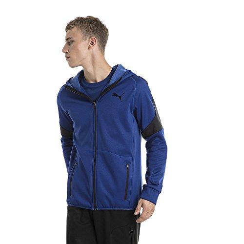 Blue Hoody Sodalite Evostripe Homme Puma Sweat shirts Fz Warm qT8C7wS