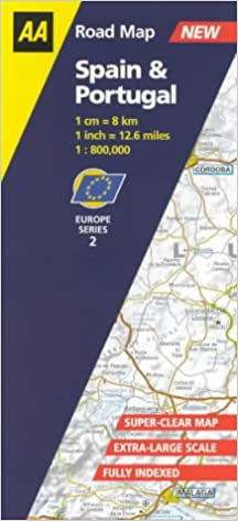 aa road map europe series Spain and Portugal (AA Road Map Europe Series): Aa Road Maps