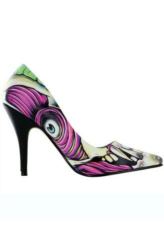 Iron Fist Skin Crawler Heel - Sandalias con plataforma Mujer Multicolor