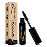 Organic Mascara | Black Mascara | Vegan & Cruelty Free | Best Natural Mascara for Thickening and...