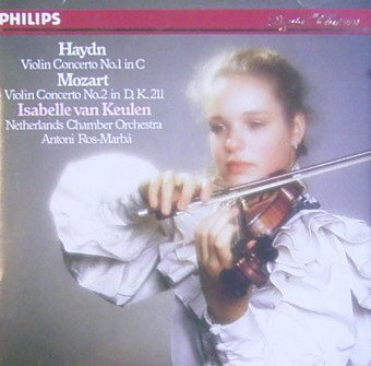 Haydn: Violin Concerto No, 1 in C / Mozart: Violin Concerto No. 2 in D, K. - C Ros