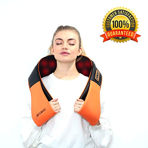 Shiatsu Massager for Neck & Back Massager: Neck Massager with 3 Vibration + 3 Rotation Modes for Massage - Deep Tissue Body Massager - Shoulder Massager for Massage Pillow - Electric Handheld Massager (Bruise On Arm Won T Go Away)