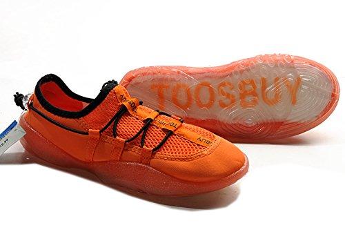 Tosbuy Women's Slip on Water Shoes,women Beach Aqua,hiking,surfing,running Shoes (Eu40) Orange