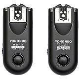 Yongnuo Upgrade RF-603 II C1 Flash Trigger/Wireless Shutter Release Transceiver Kit for Canon Rebel 300D/350D/400D/450D/500D/550D/1000D Series