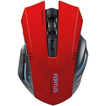 Speedlink FORTUS Gaming Mouse - Wireless, Black (SL-680100-BK-01)