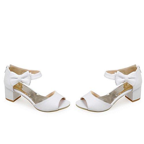 AdeeSu White 35 Bianco Ballerine EU Donna r7TqRrBn
