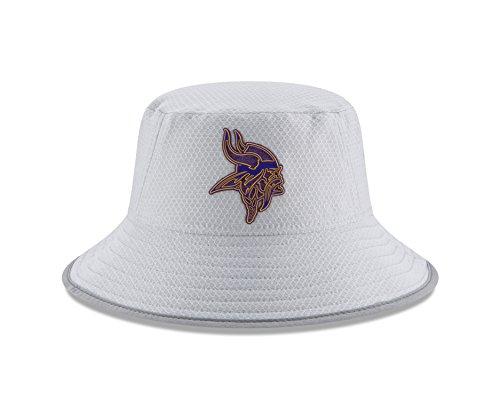 - New Era Minnesota Vikings NFL 2018 Training Camp Sideline Bucket Hat - Gray