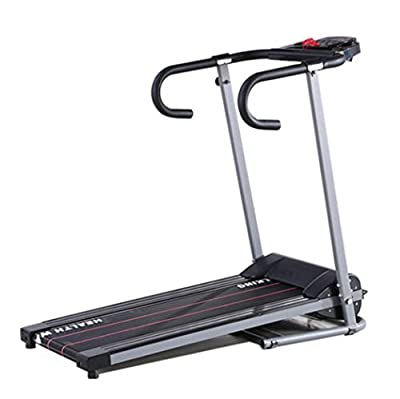 Kissmoji New Electric Motorized Treadmill Portable Folding Running Gym Fitness Machine