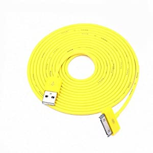Aobiny Cell Phone Cables 3M 10FT 30pin USB Date Sync Charger Cable For iphone 4 4S 3GS ipod H