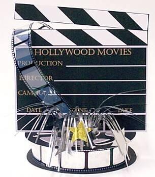 Hollywood Foil Spray Centrepiece by Amscan Partyrama 243035AMS-08241-CHNA-A