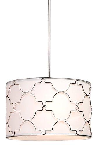 Drum Style Pendant Lighting - 8