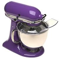 KitchenAid KSM150PSGP Artisan Series 5-Qt. Stand Mixer with Pouring Shield - Grape
