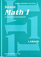 Saxon math programs produce confident students who are not only able to correctly compute, but also to apply concepts to new situations. These materials gently develop concepts, and the practice of those concepts is extended over a considerab...