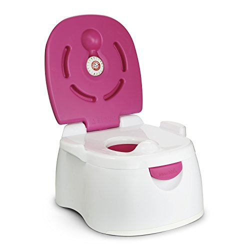 Munchkin Arm & Hammer Multi-Stage 3-in-1 Potty, Pink