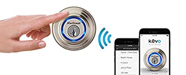 Kwikset Kevo (1st Gen) Touch-to-Open Bluetooth Smart Lock