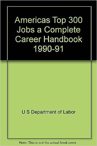 americas top 300 jobs