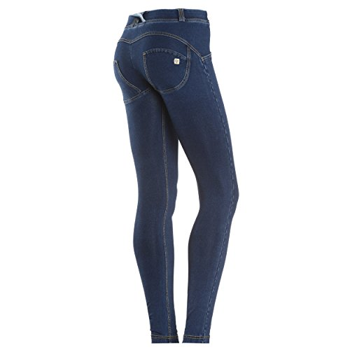 Jeans Wrup Scuro Freddy Gialle cuciture Donna Snug Skinny P8qxxEa