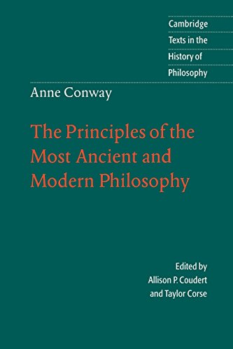 The Principles of the Most Ancient and Modern Philosophy (Cambridge Texts in the History of Philosophy)