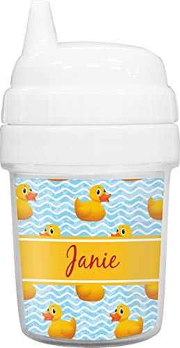 Rubber Duckie Baby Sippy Cup (Personalized) (Duckie Baby Cup)