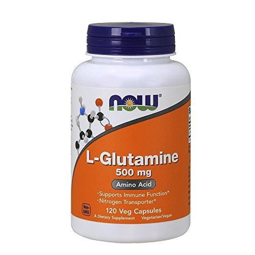 Now L Glutamine 500 Mg 120 Capsules