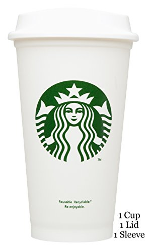 Starbucks Reusable Travel Cup To Go Coffee Cup (Grande 16 Oz) - Starbucks Tumbler Coffee