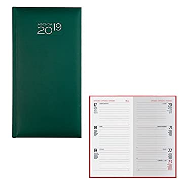takestop Agenda 2019 Verde Diaria Diario planificador 15.5 x ...