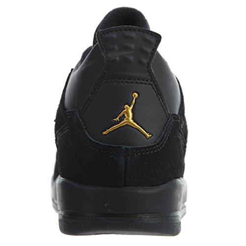 Nike Jordan 4 Retro BP (TD) Royalty - 308499-032 - black, metallic gold-white