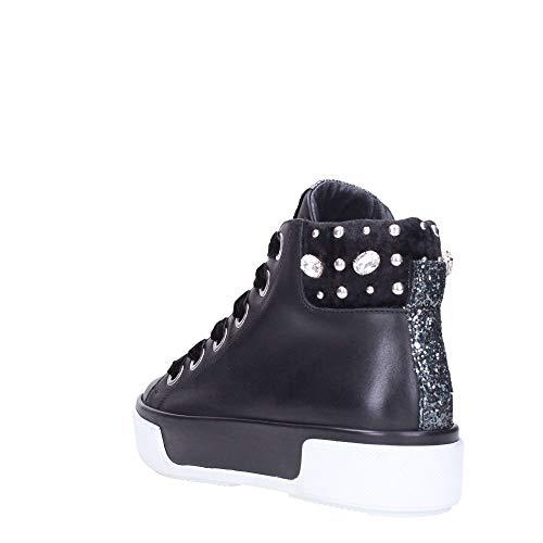 nero 42732 Sneakers donna da Sport Janet antracite 0F8qXX