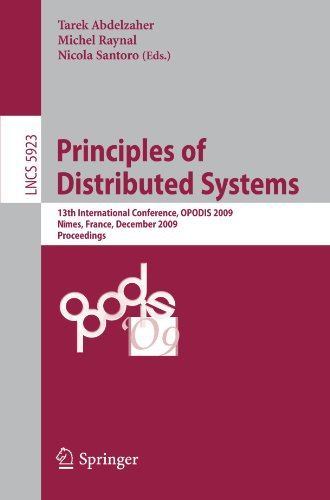 Principles of Distributed Systems by , Publisher : Springer