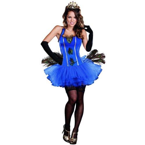 Royal Peacock Costume - Medium - Dress Size 6-10