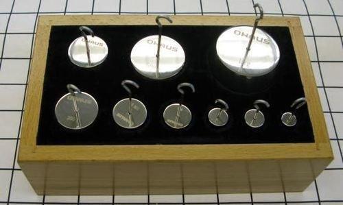 Ohaus Calibration Weight Set, 1kg-10g, ASTM