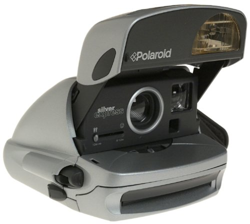 Polaroid One Step Silver Express Instant 600 Camera