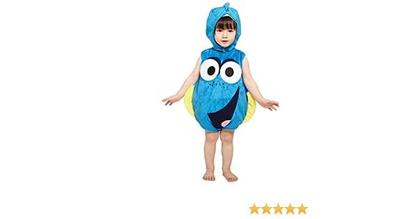 amscan dcdor de ta03 – Disfraz para niños Dory Colcha de Peluche ...