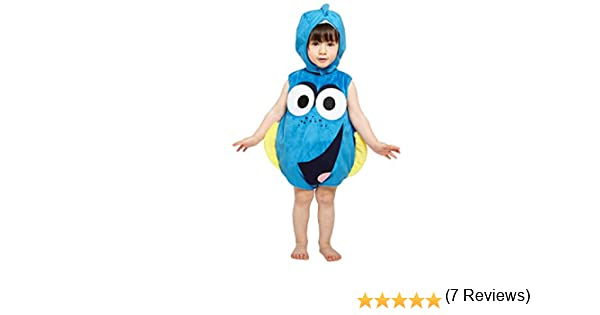 amscan dcdor de ta012 – Disfraz para niños Dory Colcha de Peluche ...