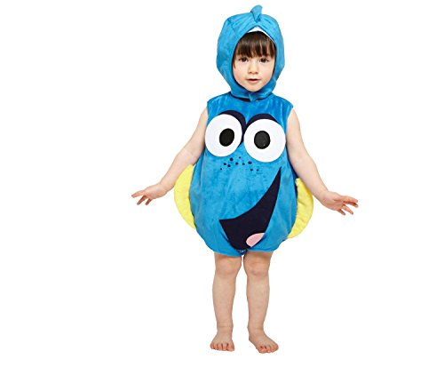 Amscan Children's Fancy Dress Costume Finding Dory Ta-bard 3-6 (Halloween Film Characters Costumes Uk)