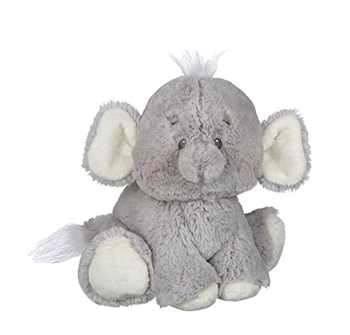 Ganz Baby Girl Boy 8 Inch Plush Stuffed Animal Toy Gray Emer
