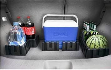 Available to Wool Trunks Carpet for Car//Truck//SUV//Van Multipurpose Cargo Organizer Blocks Car Trunk Storage Organizer Blocks Set of 4 Available to Wool Trunk/'s Carpet for Car//Truck//SUV//Van Cargo Pal