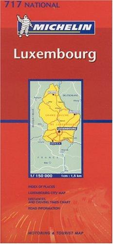 Michelin Luxembourg (Michelin Maps) (Multilingual Edition)